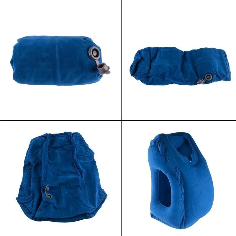 Travesseiro de Viagem Inflável Inteligente