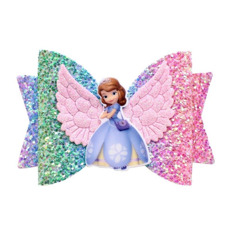 Presilha Princesas Com Glitter