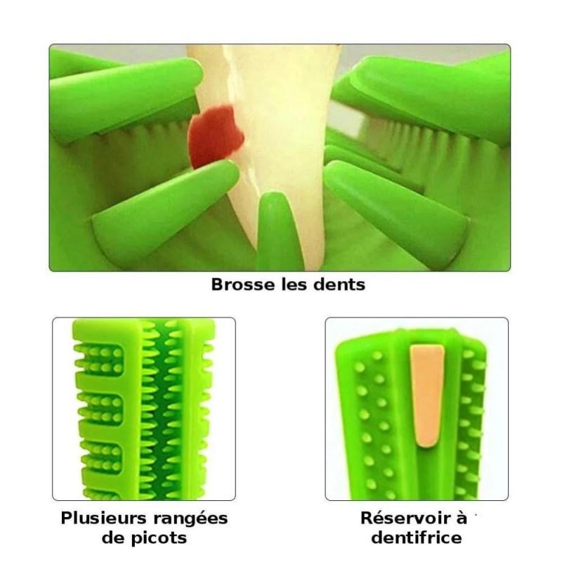 Super Brush - Escova De Dentes Para Cachorro