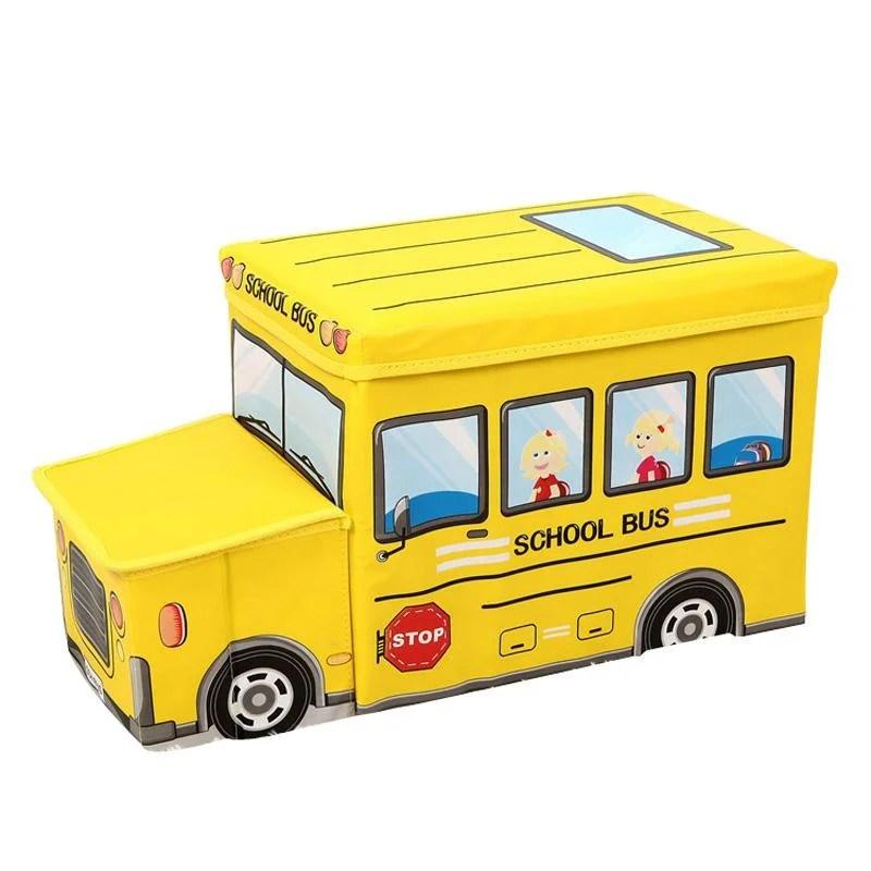 Caixa Divertida Para Armazenamento De Brinquedos