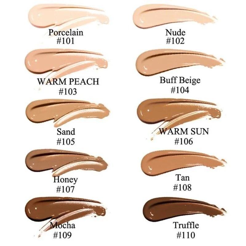 Base Phoera - Maquiagem Sem Falhas, Alta Cobertura e Longa Duração