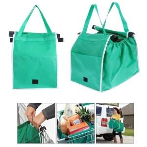 Saco de Compras Reutilizável Dobrável Ecológico