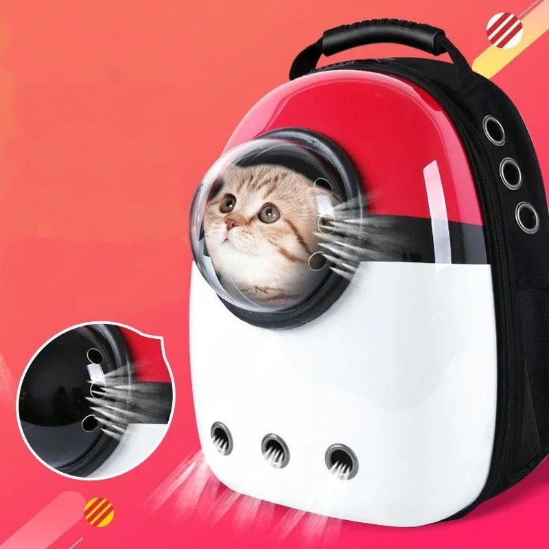Mochila Cápsula Para Gatos