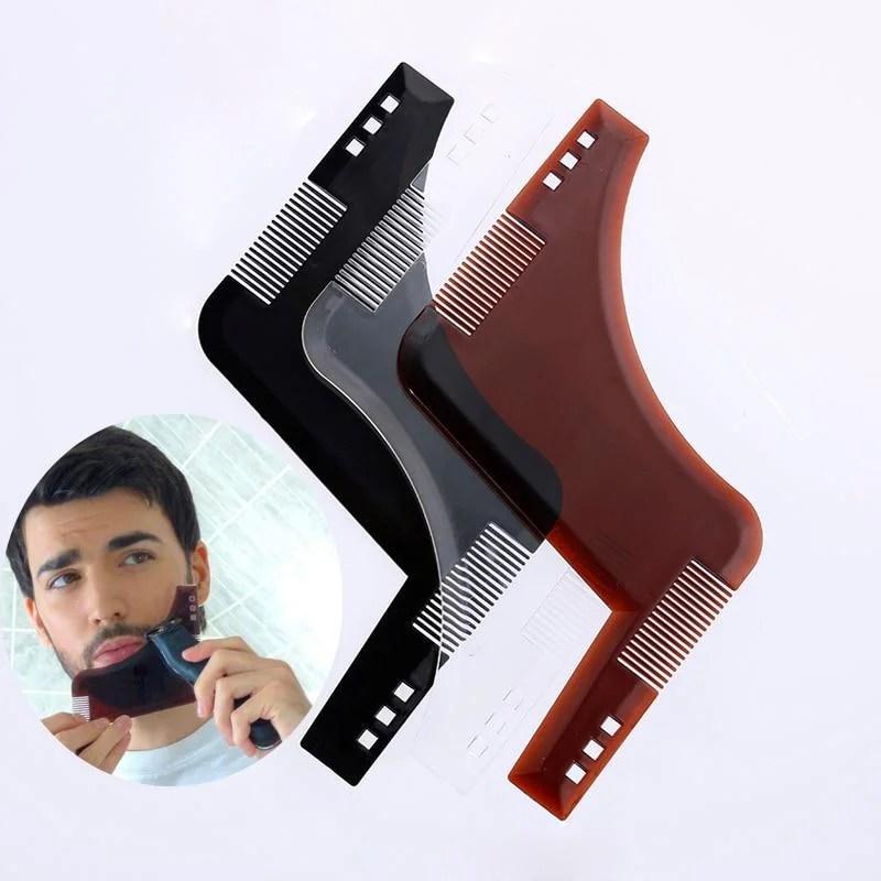 Pente Aparador de Barba Profissional