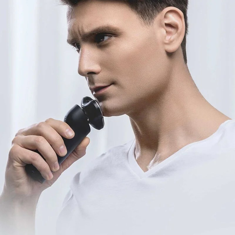 Xiaomi barbeador elétrico 3d recarregável