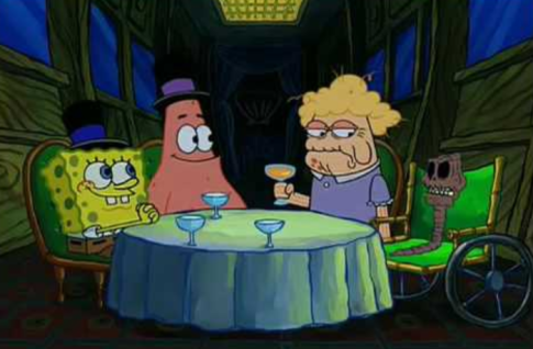 spongebob dating