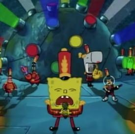 spongebob bubble bowl