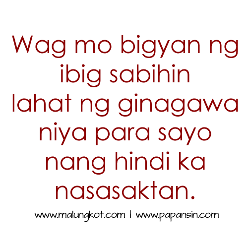 50+ Catchy Tagalog Love Quotes For Her Pictures | QuotesBae