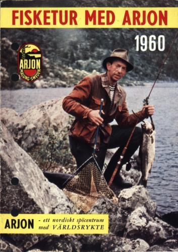 Arjon På fisketur med Arjon 1960