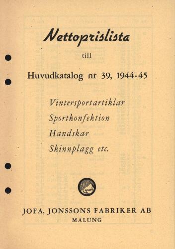 JOFA_Huvudkatalog 1944 prislista 0628