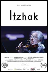 "Poster for the movie ""Itzhak"""