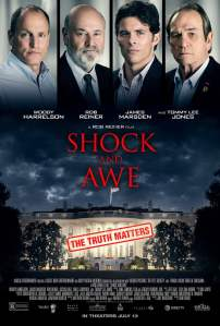 "Poster for the movie ""Shock and Awe"""