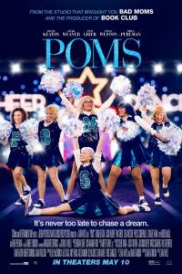 """Poster for the movie """"Poms"""""""