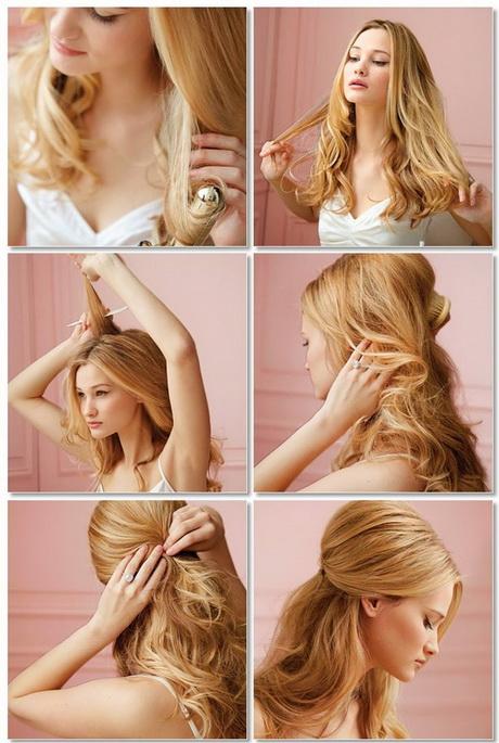 Einfache Alltags Frisuren Mittellange Haare