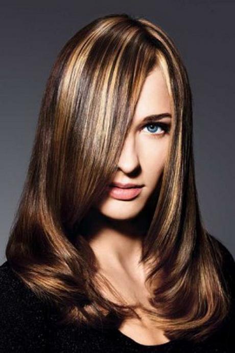 Braune Haare Mit Blonden Strhnen Bilder