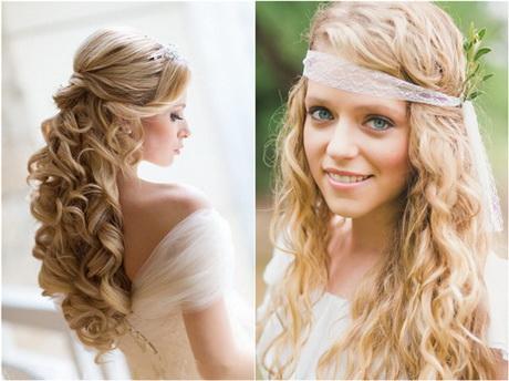 Brautfrisuren blond