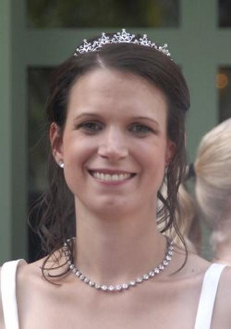 Brautfrisuren diadem