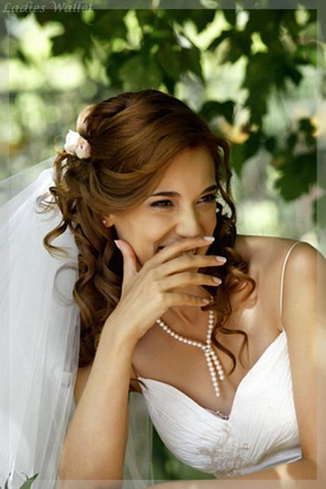 Brautfrisuren langes haar offen