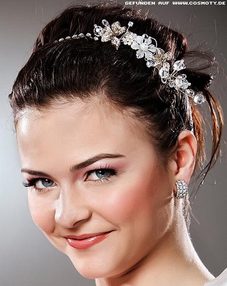 Brautfrisuren mit haarreif