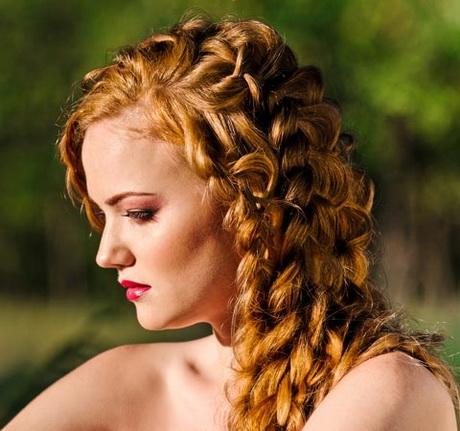 Flechtfrisur fr lange haare
