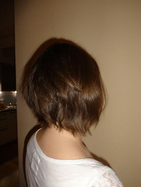Frisur von hinten