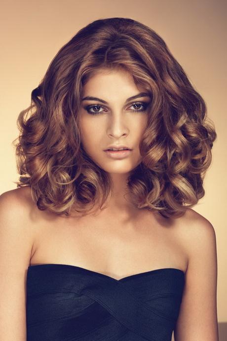 Frisuren fr mittellanges lockiges haar