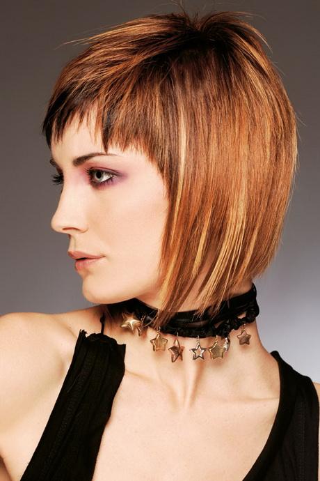 Frisuren fransig kurz