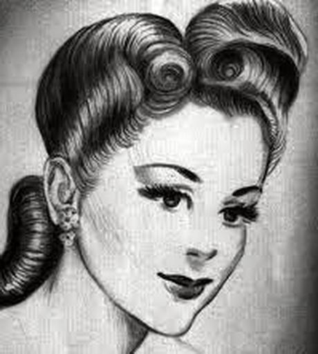 Damen Frisuren 30er Jahren Wohnkultur Design Haarstyling Und