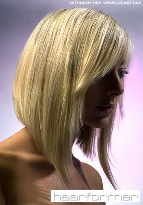 Frisuren vorne kurz hinten lang