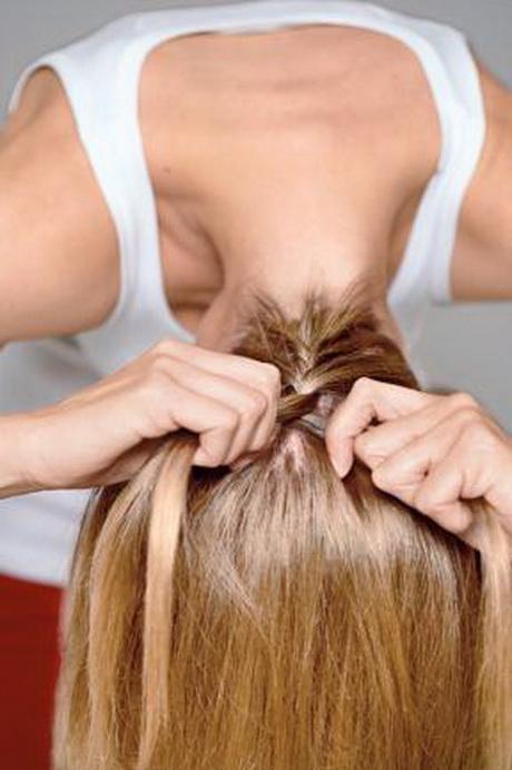 Haare flechten einfach