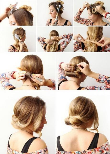 Haarfrisuren selbst machen