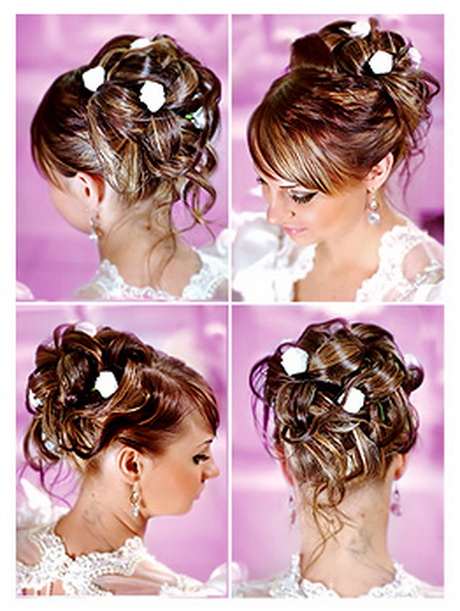 Hochzeitsfrisur schulterlange haare