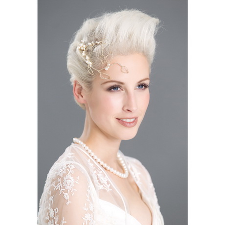 Hochzeitsfrisuren kurze haare fotos