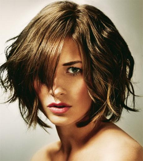 Frisuren Halblang Welliges Haar