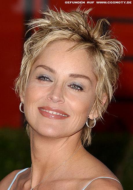 Kurzhaarfrisuren Sharon Stone