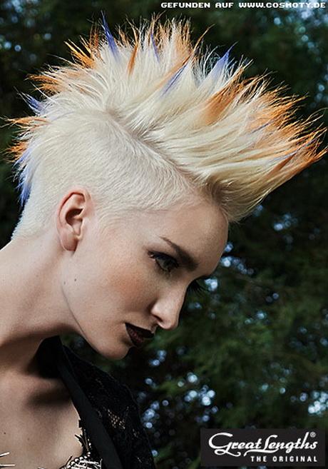 Punk frisuren frau