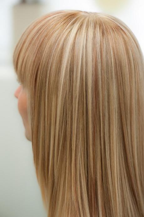 Dunkelblond Mit Blonden Strähnchen Frisuren Strähnchen