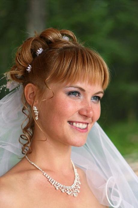 Brautfrisuren mit pony
