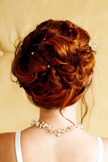 Brautfrisuren mittellange haare