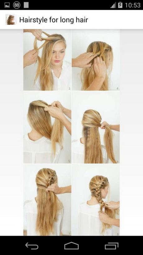 Frisuren mit anleitung fr lange haare