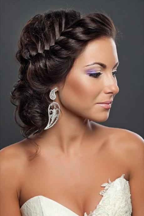 Hochzeitsfrisur lange haare