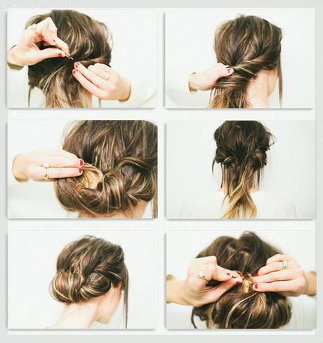 Steckfrisuren fr kurze haare