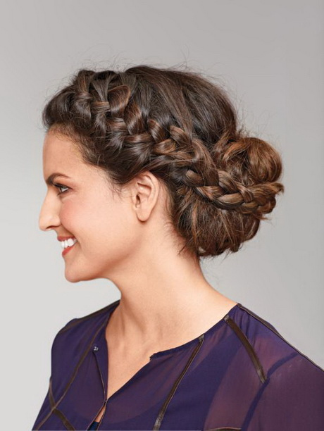 Steckfrisuren lange haare