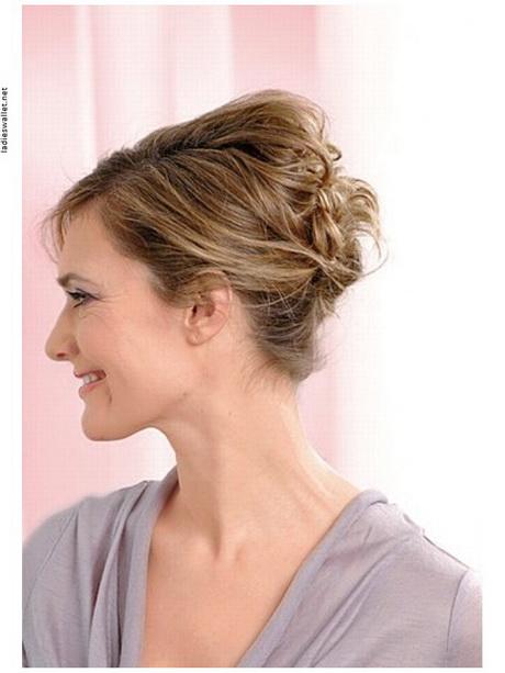 Hochsteckfrisuren halblanges haar