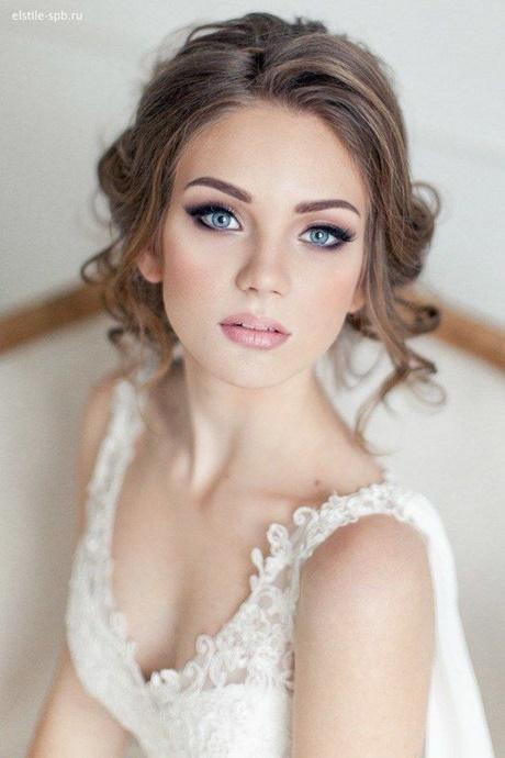 Brautfrisuren 2018 mit schleier
