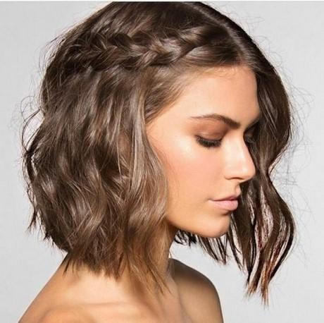 Zopf schulterlange haare