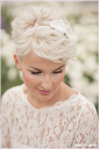 Braut kurzhaarfrisuren