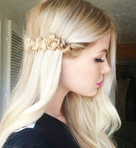Hochzeitsgast Frisur Lange Haare