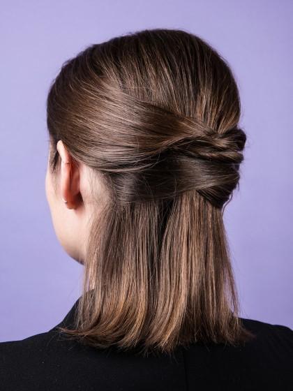 Schnelle einfache frisuren lange haare
