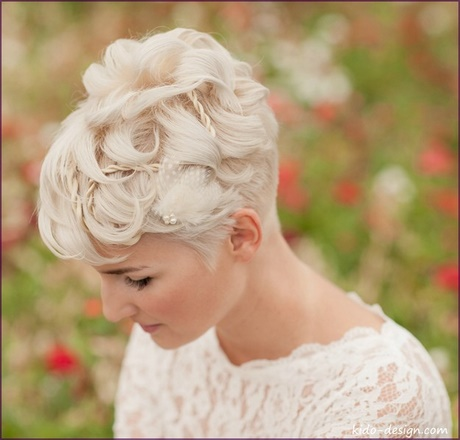 Braut kopfschmuck fr kurze haare